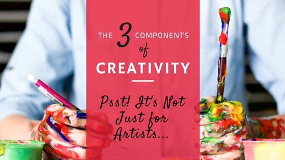 3 Components of Creativity (infographic)