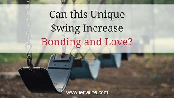Expressions Swing promotes bonding and attunement with your child
