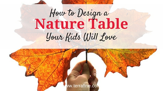 Nature Table Ideas by Terra Fine